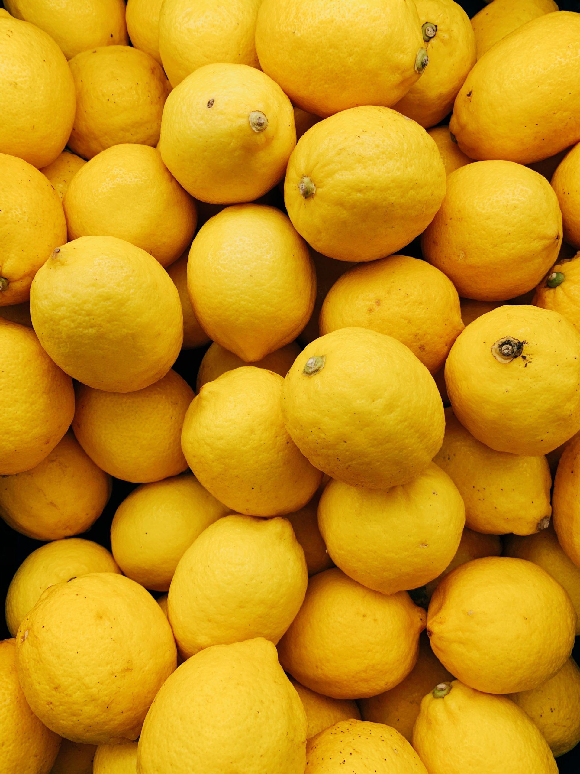 Le citron, votre zeste santé